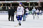 Stockholm 2013-11-26 Bandy Elitserien Hammarby IF - Edsbyns IF :  <br /> Edsbyn Robin Ehn deppar efter matchen<br /> (Foto: Kenta J&ouml;nsson) Nyckelord:  depp besviken besvikelse sorg ledsen deppig nedst&auml;md uppgiven sad disappointment disappointed dejected