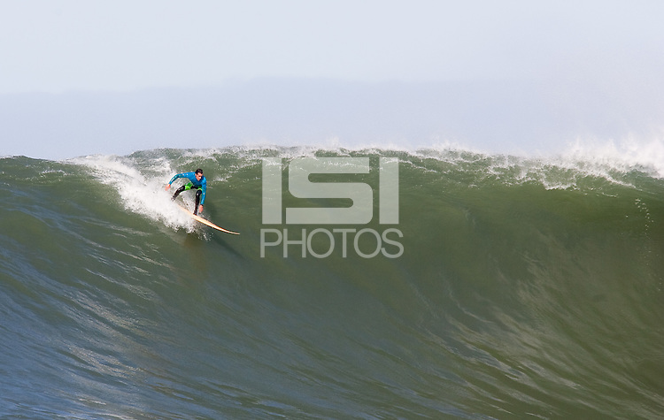 Josh Loya. Mavericks Surf Contest in Half Moon Bay, California on February 13th, 2010.
