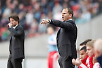 Nederland, Amsterdam, 22 april 2012.Seizoen 2011/2012.Eredivisie.Ajax-FC Groningen.Frank de Boer, trainer-coach van Ajax