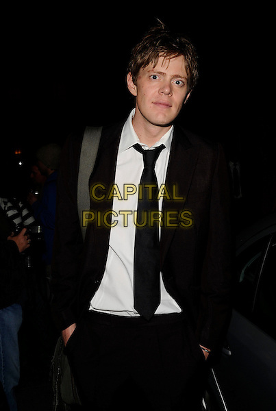 "KRIS MARSHALL.At the ""Fat Pig"" Press Night,.Trafalgar Studios, 1 Whitehall, London,.England, UK, May 27th 2008..half  length black tie suit jacket.CAP/CAN.©Can Nguyen/Capital Pictures"