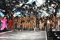 NEW YORK, NY - NOVEMBER 08: Models at the 2018 Victoria's Secret Fashion Show at Pier 94 on November 8, 2018 in New York City. Credit: John Palmer/MediaPunch