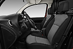 Front seat view of a 2018 Mercedes Benz Citan Perfect Tool 4 Door Panel Wagon front seat car photos