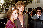 Mark Hamill and wife Marilou York at the Plaza Hotel  on August 1, 1980 in New York City.