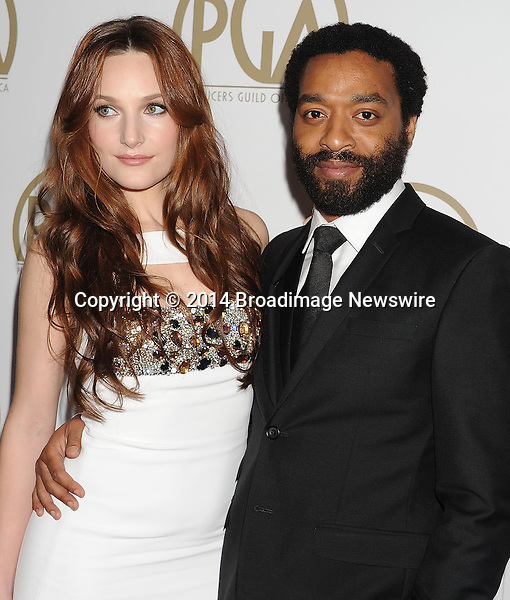 Pictured: Chiwetel Ejiofor; Sari Mercer<br /> Mandatory Credit &copy; Joseph Gotfriedy/Broadimage<br /> 25th Annual Producers Guild Awards<br /> <br /> 1/19/14, Beverly Hills, California, United States of America<br /> <br /> Broadimage Newswire<br /> Los Angeles 1+  (310) 301-1027<br /> New York      1+  (646) 827-9134<br /> sales@broadimage.com<br /> http://www.broadimage.com