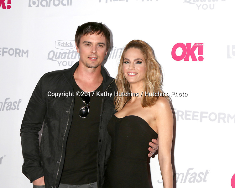 LOS ANGELES - MAY 17:  Darin Brooks, Kelly Kruger at the OK! Magazine Summer Kick-Off Party at the W Hollywood Hotel on May 17, 2017 in Los Angeles, CA