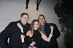 Fiona Hutchison & John Viscardi with a friend - Actors, crew, production, family come to One Life To Live's wrap party and video tribute on November 18, 2011 at Capitale, New York City, New York.  (Photo by Sue Coflin/Max Photos)