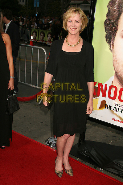"""JOANNA KERNS.""""Knocked Up"""" Los Angeles Premiere at Mann's Village Theatre, Westwood, California, USA..May 21st, 2007.full length black dress gold necklace.CAP/ADM/BP.©Byron Purvis/AdMedia/Capital Pictures"""