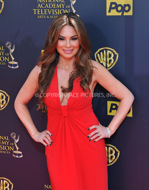 WWW.ACEPIXS.COM<br /> <br /> April 26 2015, LA<br /> <br /> Lilly Melgar arriving at The 42nd Annual Daytime Emmy Awards at Warner Bros. Studios on April 26, 2015 in Burbank, California.<br /> <br /> By Line: Peter West/ACE Pictures<br /> <br /> <br /> ACE Pictures, Inc.<br /> tel: 646 769 0430<br /> Email: info@acepixs.com<br /> www.acepixs.com