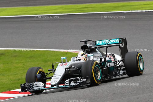 Lewis Hamilton (GBR), <br /> OCTOBER 9, 2016 - F1 : Japanese Formula One Grand Prix Final <br /> at Suzuka Circuit in Suzuka, Japan. (Photo by Sho Tamura/AFLO) GERMANY OUT