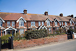 Row of houses Walberswick, Suffolk