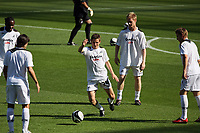 Pictured: Joe Allen of Swansea City during the pre match warm up <br /> Coca Cola Championship, Swansea City FC v Burnley at the Liberty Stadium, Swansea. Saturday 20 September 2008.
