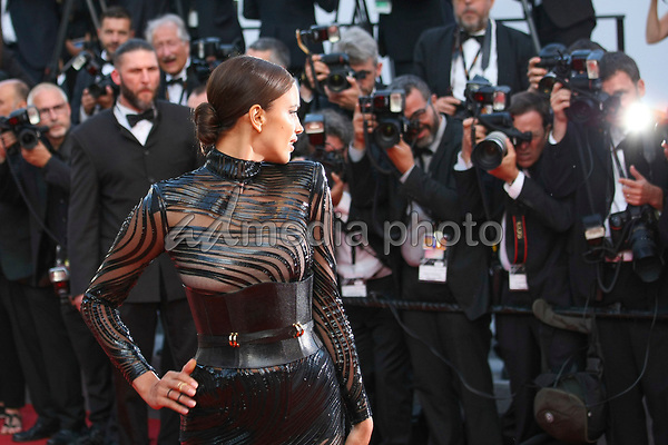 "24 May 2017 - Cannes, France - Irina Shayk . ""The Beguiled"" Premiere during the 70th Cannes Film Festival. Photo Credit: GeorgWenzel/face to face/AdMedia"