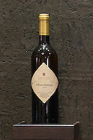 Chardonnay. Biblia Chora Winery, Kokkinohori, Kavala, Macedonia, Greece