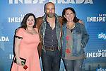 "Spanish Actors Inma Cuevas (Left) Antonio Gil (Center) and Gracia Olayo (Right) attend the Premiere of the movie ""La vida inesperada"" at the Callao Cinema in Madrid, Spain. April 25, 2014. (ALTERPHOTOS/Carlos Dafonte)"