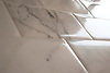 Giovanni Barbieri Marmo Antico Lucido in Calacatta marble, Polished, straight edges 3 x 6 inch.<br /> *Special order material. Not kept in stock.  Please allow 16 weeks for delivery