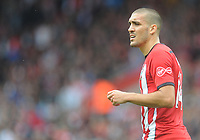 Southampton's Oriol Romeu<br /> <br /> Photographer Kevin Barnes/CameraSport<br /> <br /> The Premier League - Southampton v Burnley - Sunday August 12th 2018 - St Mary's Stadium - Southampton<br /> <br /> World Copyright &copy; 2018 CameraSport. All rights reserved. 43 Linden Ave. Countesthorpe. Leicester. England. LE8 5PG - Tel: +44 (0) 116 277 4147 - admin@camerasport.com - www.camerasport.com