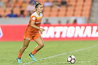 Houston, TX - Saturday July 22, 2017: Amber Brooks during a regular season National Women's Soccer League (NWSL) match between the Houston Dash and the Boston Breakers at BBVA Compass Stadium.