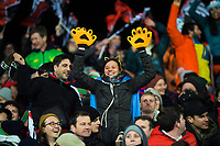 Jaguares fans during the 2019 Super Rugby final between the Crusaders and Jaguares at Orangetheory Stadium in Christchurch, New Zealand on Saturday, 6 July 2019. Photo: Dave Lintott / lintottphoto.co.nz