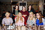 Mary Immaculate College Reunion enjoying a night out at Croi The Square on Saturday Front Cait Ryan, Joan Ward, Grace Crowley, Niamh McGrath Back l-r Ruth Burke, Katie O'Sullivan, Mairead Dineen