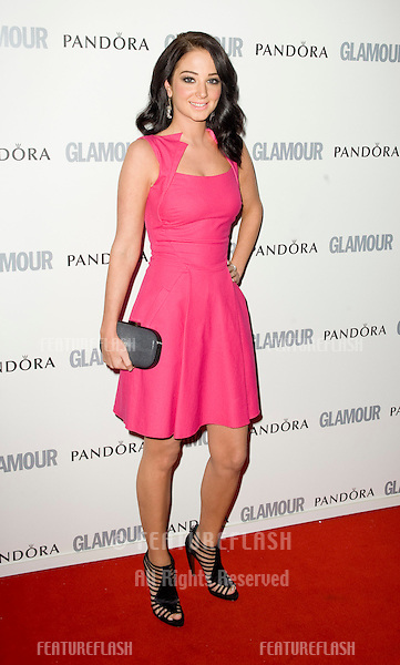 Tulisa arriving for the 2011 Glamour Awards, Berkeley Square, London. 07/06/2011 Picture by: Simon Burchell / Featureflash