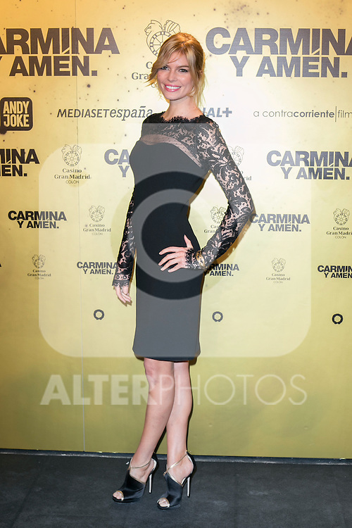 "Cristina Tosio  attend the Premiere of the movie ""Carmina y Amen"" at the Callao Cinema in Madrid, Spain. April 28, 2014. (ALTERPHOTOS/Carlos Dafonte)"