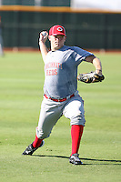 Jacob Johnson - Cincinnati Reds - 2010 Instructional League.Photo by:  Bill Mitchell/Four Seam Images..