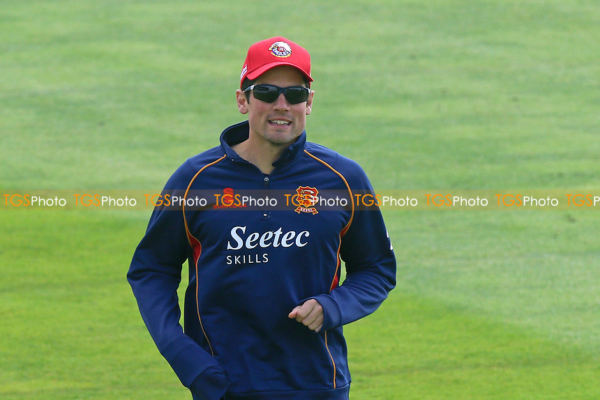 Alastair Cook of Essex looks on ahead of Somerset CCC vs Essex CCC, Specsavers County Championship Division 1 Cricket at The Cooper Associates County Ground on 16th April 2017