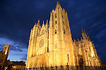 Leon Cathedral at Night, Spain