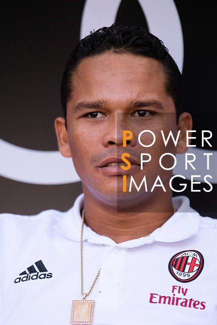 AC Milan Forward Carlos Bacca during the 2017 International Champions Cup China match between FC Bayern and AC Milan at Universiade Sports Centre Stadium on July 22, 2017 in Shenzhen, China. Photo by Marcio Rodrigo Machado/Power Sport Images