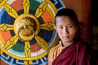 Kundu, Monk at Chime Lhakang Monastery.