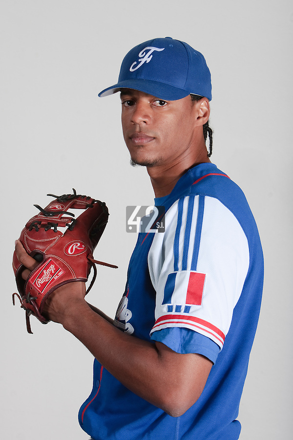 23 july 2010: Arold Castillo poses prior to the 2010 European Championship Seniors, in Mulhouse, France.
