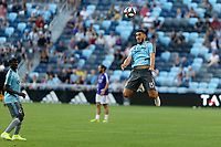 St. Paul, MN - Saturday August 17, 2019: Minnesota United FC played Orlando City SC in a Major League Soccer (MLS) game at Allianz Field  Final score Minnesota United 1, Orlando City SC 1
