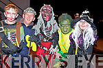 Enjoying the annual Halloween parade in Killorglin on Saturday night were Eddie, Colm and James Lonergan, Beaufort, Alan Conway, Killorglin and Elmarie Lonergan, Beaufort.