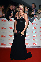 Chloe Sims<br /> Arrivals at the National Television Awards 2018 at The O2 Arena on January 23, 2018 in London, England. <br /> CAP/Phil Loftus<br /> &copy;Phil Loftus/Capital Pictures