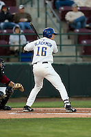 August 21, 2008:  Tri-City Dust Devils' Charlie Blackmon at-bat during a Northwest League game against the Yakima Bears at Gesa Stadium in Pasco, Washington.