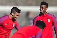 Lisbon, Portugal - Tuesday November 12, 2017: The USMNT training at Cidade do Futebol.