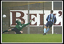 02/11/2002                   Copyright Pic : James Stewart.File Name : stewart-east fife v albion 08.JEDD STIRLING SENDS KEEPER JAMES BUTLER THE WRONG WAY TO OPEN THE SCORING FROM THE PENALTY SPOT....Payments to :-.James Stewart Photo Agency, 19 Carronlea Drive, Falkirk. FK2 8DN      Vat Reg No. 607 6932 25.Office     : +44 (0)1324 570906     .Mobile  : +44 (0)7721 416997.Fax         :  +44 (0)1324 570906.E-mail  :  jim@jspa.co.uk.If you require further information then contact Jim Stewart on any of the numbers above.........