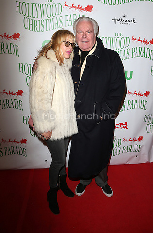 Hollywood, CA - NOVEMBER 27: Jill St. John, Robert Wagner, At 85th Annual Hollywood Christmas Parade At Hollywood Blvd, California on November 27, 2016. Credit: Faye Sadou/MediaPunch