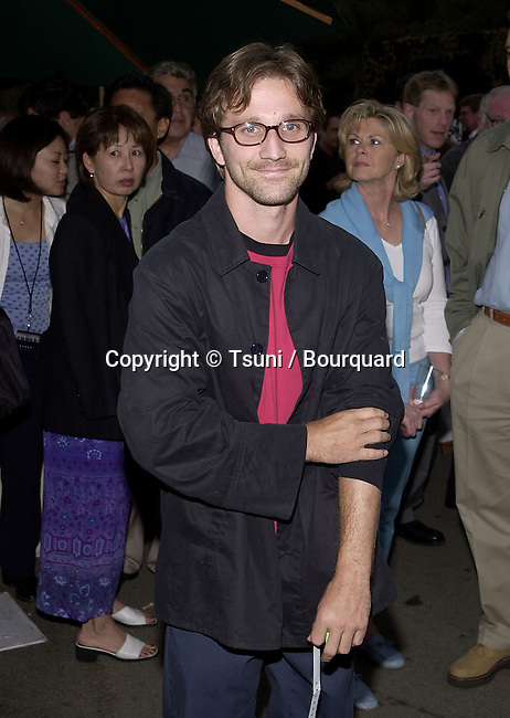 Breckin Meyer arriving at the premiere of Band of Brothers at the Hollywood Bowl in Los Angeles. August 29, 2001.  © Tsuni          -            MeyerBreckin01.jpg