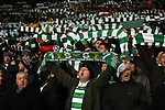 Celtic fans before the Champions League match at Celtic Park, Glasgow. Picture Date: 23rd November 2016. Pic taken by Lynne Cameron/Sportimage