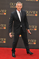 Gary Lineker at the Olivier Awards 2018, Royal Albert Hall, Kensington Gore, London, England, UK, on Sunday 08 April 2018.<br /> CAP/CAN<br /> &copy;CAN/Capital Pictures<br /> CAP/CAN<br /> &copy;CAN/Capital Pictures