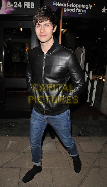 Ben Hanlin attends the Zippo's Cirque Berserk! press night, Peacock Theatre, Portugal Street, London, UK, on Tuesday 09 February 2016.<br /> CAP/CAN<br /> &copy;CAN/Capital Pictures