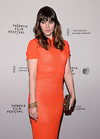 NEW YORK, NY - APRIL 18:  'Alex of Venice' Premiere after party during the 2014 Tribeca Film Festival at The Cabanas At the Martime Hotel on April 18, 2014 in New York City HP/Starlitepics