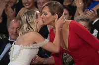 Allison Janney wins the Oscar&reg; for performance by an actress in a supporting role, for her role in &ldquo;I, Tonya&rdquo; during the live ABC Telecast of The 90th Oscars&reg; at the Dolby&reg; Theatre in Hollywood, CA on Sunday, March 4, 2018.<br /> *Editorial Use Only*<br /> CAP/PLF/AMPAS<br /> Supplied by Capital Pictures