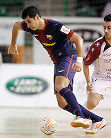FC Barcelona Alusport's Gabriel Da Silva during Spanish National Futsal League match.November 24,2012. (ALTERPHOTOS/Acero) /NortePhoto