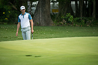 Victor Perez (FRA) during the 3rd round of the AfrAsia Bank Mauritius Open, Four Seasons Golf Club Mauritius at Anahita, Beau Champ, Mauritius. 01/12/2018<br /> Picture: Golffile | Mark Sampson<br /> <br /> <br /> All photo usage must carry mandatory copyright credit (© Golffile | Mark Sampson)