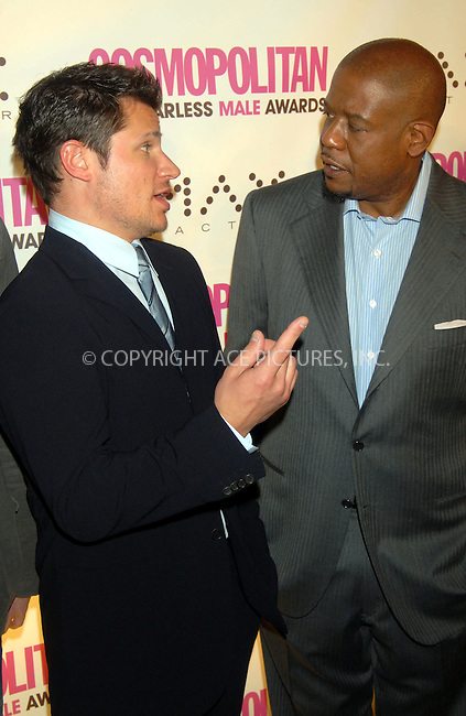 WWW.ACEPIXS.COM . . . . . ....January 22nd, 2007, New York City. ....Forest Whitaker attends the Cosmopolitan Magazine Honoring Nick Lachey as Fun Fearless Man of the Year at Cipriani. ......Please byline: KRISTIN CALLAHAN - ACEPIXS.COM.. . . . . . ..Ace Pictures, Inc:  ..(212) 243-8787 or (646) 769 0430..e-mail: info@acepixs.com..web: http://www.acepixs.com