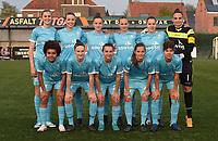 Beker van Belgie Vrouwen <br /> 1/2 finale : SV Zulte Waregem - AA Gent Ladies :<br /> Team van AA Gent Ladies<br /> <br /> Foto VDB / Bart Vandenbroucke