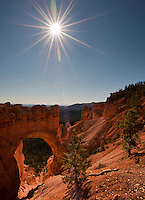 Natural Bridge, Bryce Canyon NP Utah.