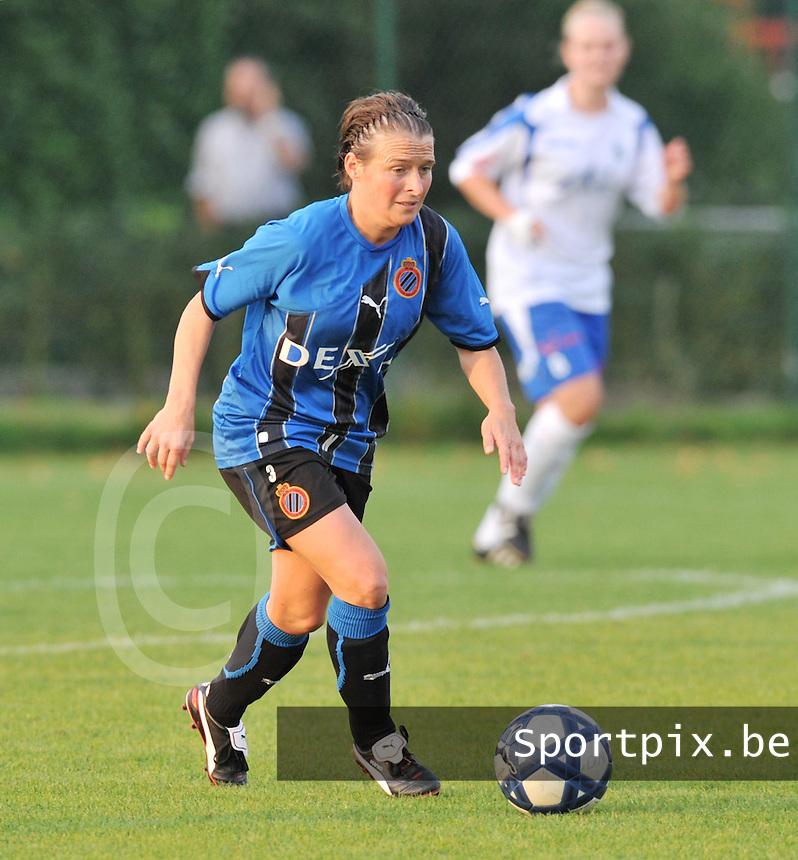 Club Brugge Dames : Christine Saelens.foto VDB BART VANDENBROUCKE